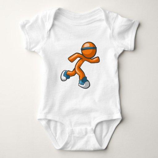 Desgaste virtual del corredor body para bebé
