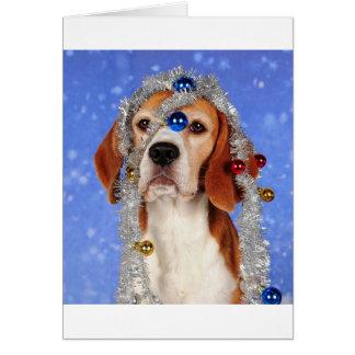 Desgracia del navidad tarjeta de felicitación