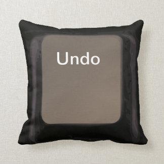 Deshaga la almohada/el amortiguador oscuros del cojín decorativo