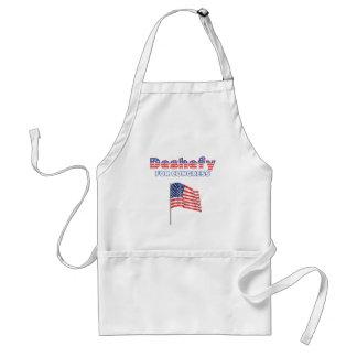 Deshefy for Congress Patriotic American Flag Adult Apron