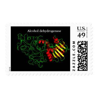 Deshidrogenasa del alcohol sellos postales