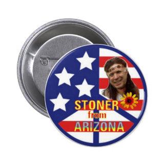 Deshuesadora del botón de Arizona Pin Redondo De 2 Pulgadas