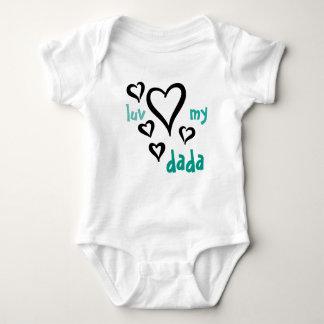 Desi Baby - Luv My Dada 1 Tee Shirt