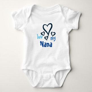 Desi Baby Onsie - Luv My Nana 1 T Shirt