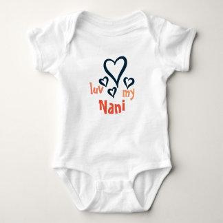 Desi Baby Onsie - Luv My Nani 1 T-shirt