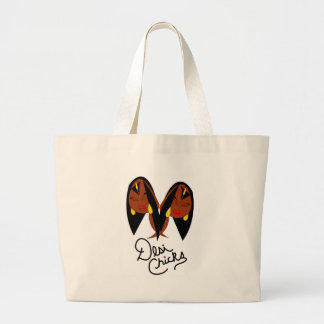 Desi Chick Inspired Items Canvas Bag