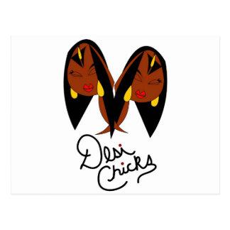 Desi Chick Inspired Items Postcard