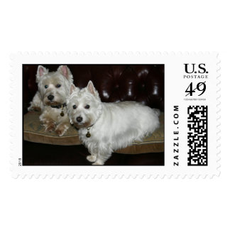 Desi & Lucy Postage Stamps