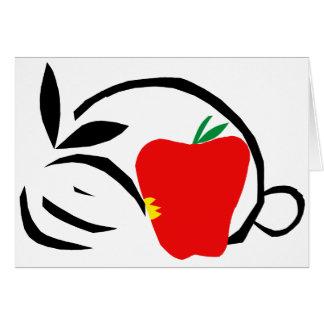 Desi muerde Apple grande Tarjeta De Felicitación
