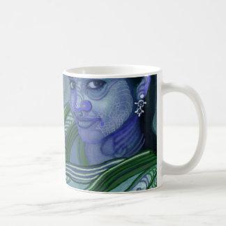desi smile classic white coffee mug