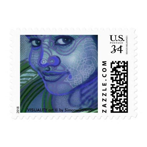 desi smile postage stamp