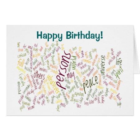 Desidera(R)ta birthday card