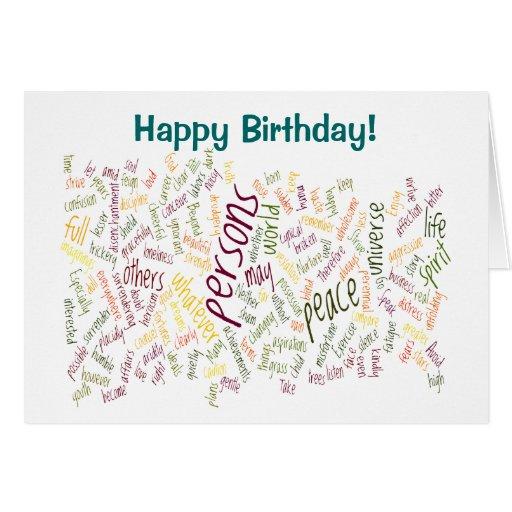 Desidera(R)ta birthday card
