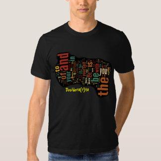 Desidera(R)ta Word Art Tee Shirt