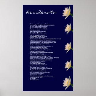 Desiderata ~ Canvas Print