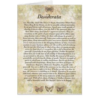 DESIDERATA Card=Butterflies Card