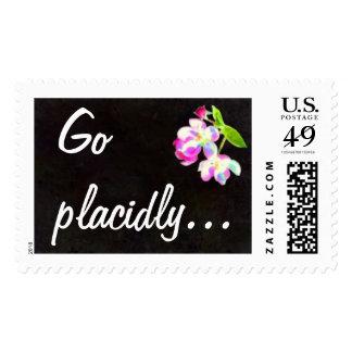 DESIDERATA Cosmic Blossoms postage