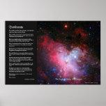 Desiderata - Eagle Nebula, Messier 16, NGC 6611 Print