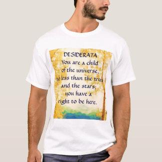 DESIDERATA Faded Aspens t-shirt