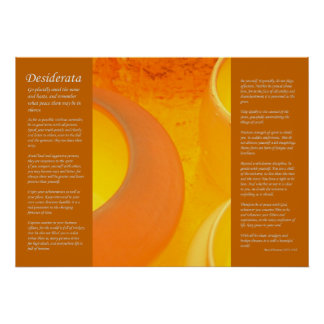 Desiderata - Fired Ceramic Pots Cooling in Oven Poster