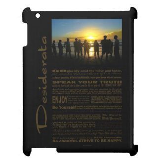 Desiderata Poem Admiring The Sunset Cover For The iPad 2 3 4