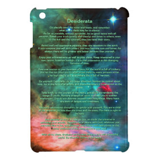 Desiderata Poem - Center of The Swan Nebula iPad Mini Covers