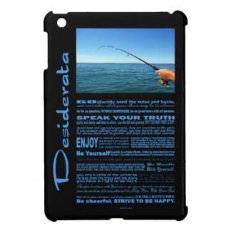 Desiderata Poem Fishing In The Middle Of The Ocean iPad Mini Case