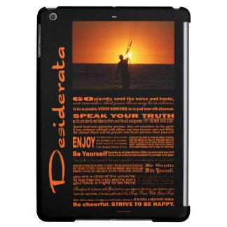 Desiderata Poem Kite Surfer iPad Air Cases