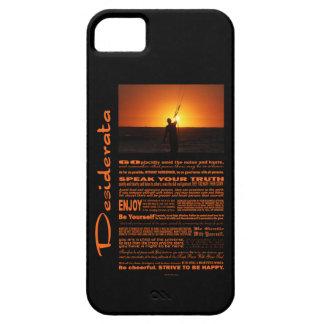 Desiderata Poem Kite Surfer iPhone SE/5/5s Case