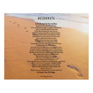 Desiderata Poem Max Ehrmann Footprints In The Sand Panel Wall Art