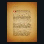 "Desiderata Poster<br><div class=""desc"">Desiderata by Max Ehrmann. Go placidly amid the noise &amp; haste,  &amp; Remember what peace there may be  In silence.</div>"