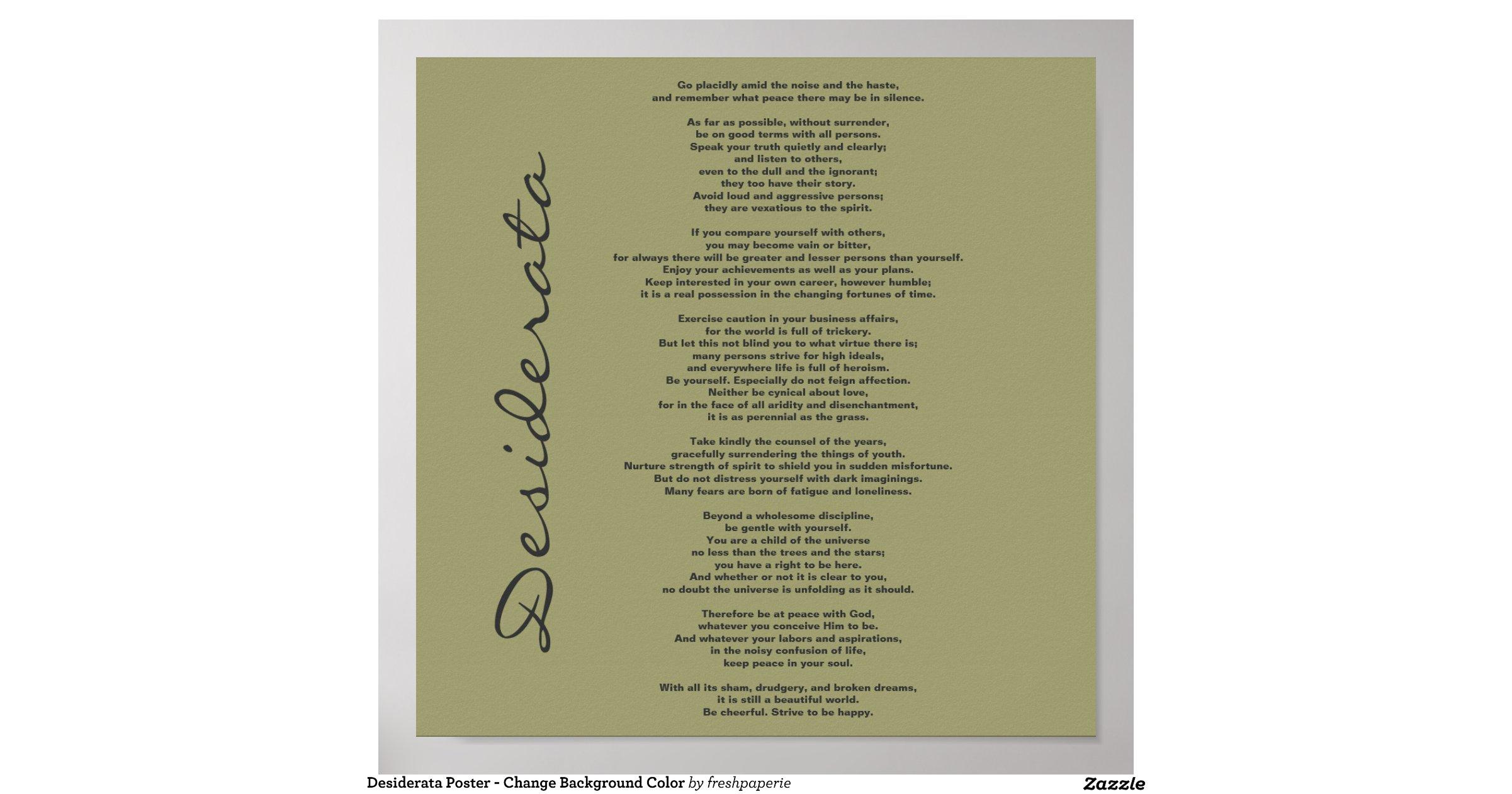 desiderata_poster_change_background_color ...