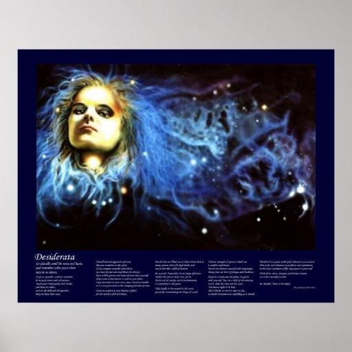 Desiderátums - alcohol celestial poster