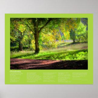 Desiderátums - comienzo de un otoño de Cornualles Posters