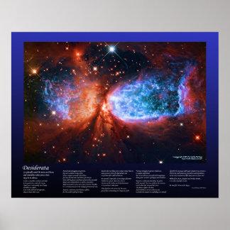 Desiderátums - nacimiento de la estrella en el Cyg Poster
