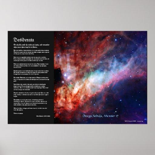 Desiderátums - nebulosa de Omega, 17 más sucios Impresiones
