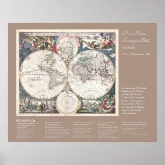 Desiderátums - Nova Totius Terrarum Orbis Tabula