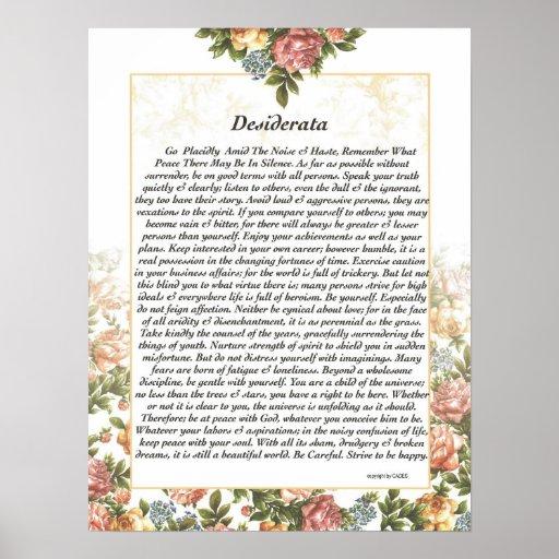DESIDERÁTUMS Rosepaper Impresiones