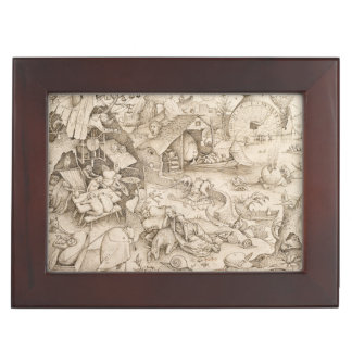 Desidia (pereza) por Pieter Bruegel la anciano Caja De Recuerdos