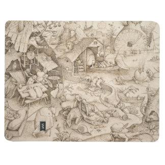 Desidia pereza por Pieter Bruegel la anciano Cuaderno