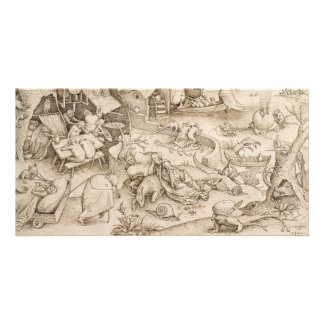 Desidia (Sloth) by Pieter Bruegel the Elder Card