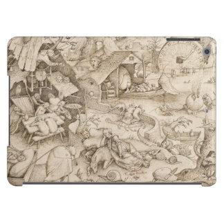 Desidia (Sloth) by Pieter Bruegel the Elder iPad Air Case