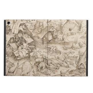 Desidia (Sloth) by Pieter Bruegel the Elder Cover For iPad Air