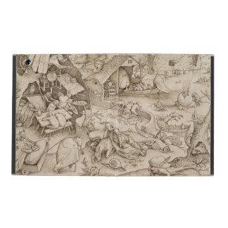 Desidia (Sloth) by Pieter Bruegel the Elder iPad Case