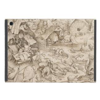 Desidia (Sloth) by Pieter Bruegel the Elder Cover For iPad Mini