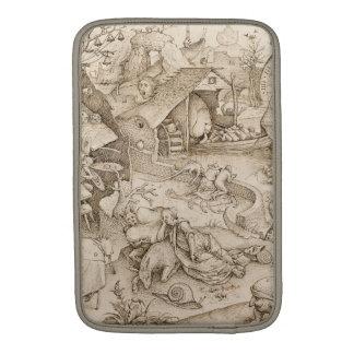 Desidia (Sloth) by Pieter Bruegel the Elder MacBook Sleeve