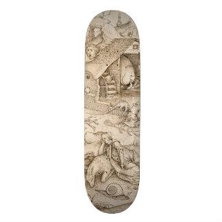 Desidia (Sloth) by Pieter Bruegel the Elder Custom Skateboard