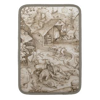 Desidia (Sloth) by Pieter Bruegel the Elder Sleeve For MacBook Air