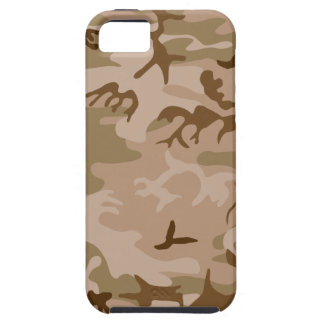 Desierto Camo - camuflaje de Brown iPhone 5 Protector