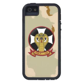 "Desierto Camo de las ""víboras HMLA-169"" Funda Para iPhone 5 Tough Xtreme"